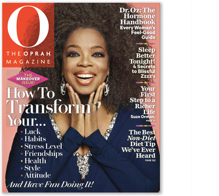 oprah magazine transformation issue