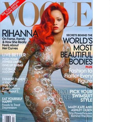 Rihanna Vogue Apr 2011
