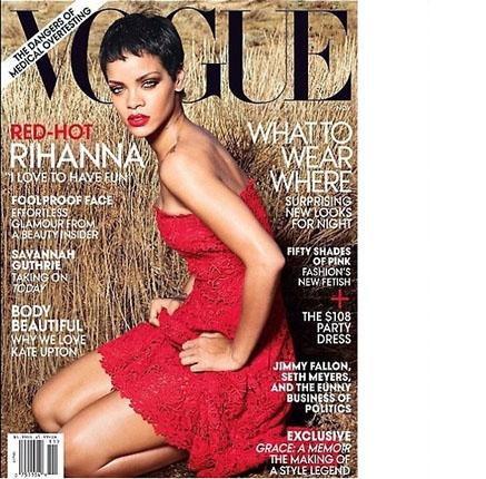 Rihanna Vogue nov 2012