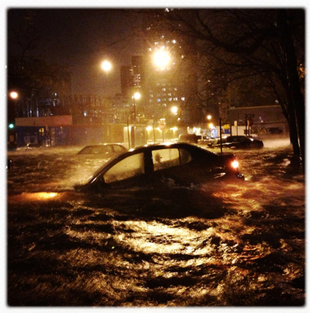 New York flooding
