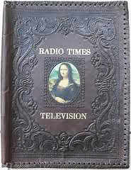radio times leather binder