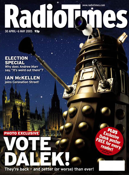 radio times vote dalek