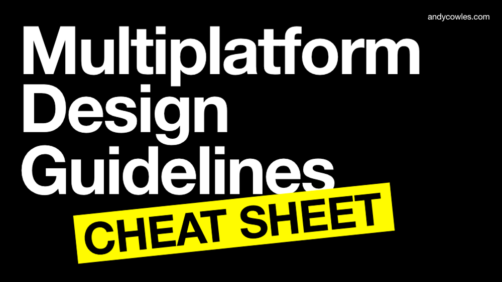 Multiplatform design brand guidelines workshop for Ascential